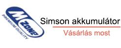 simson akkumulátor